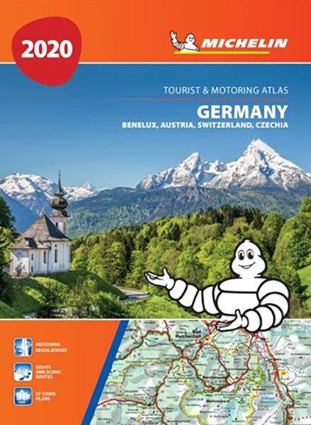 Michelin Tyskland Og Benelux Atlas 2020