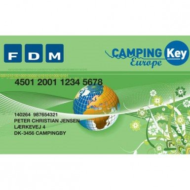 Campingpas 2020 Camping Key Europa Til Campingpladser I Europa