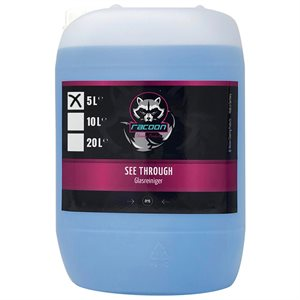 RACOON SEE THROUGH - GLASS CLEANER - GLASRENS 5L