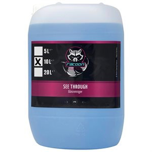 RACOON SEE THROUGH GLASS CLEANER - GLASRENS 10L