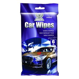 BASTA CAR WIPES EASY SHINE 6 STK