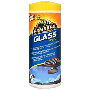 ARMOR ALL GLAS WIPES 36STK